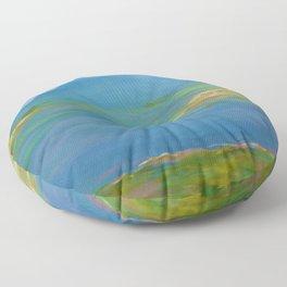 Spring Marsh Floor Pillow