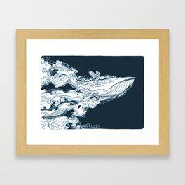 Prichard Whale Framed Art Print