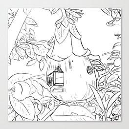 Fairy House Canvas Print