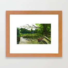Nature Center Framed Art Print