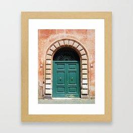 Door in Rome Framed Art Print