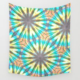 Twelve-Pointed Diagonal Stars Wall Tapestry