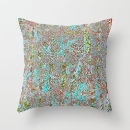 Tranquility in the Chaos Throw Pillow