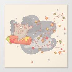 Yay! Raketa! Canvas Print