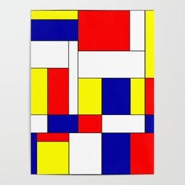Mondrian #37 Poster