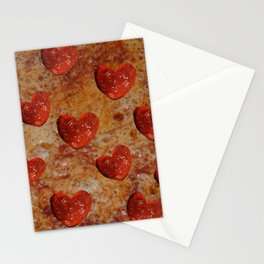Love Pizza Stationery Cards