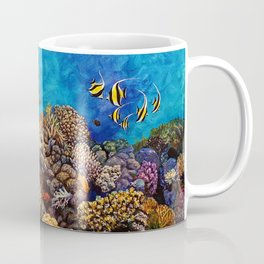 Coral Bliss Coffee Mug