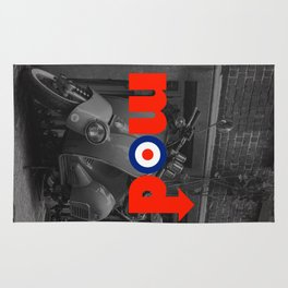 Mod Music Quote Rug