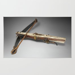 Antique Crossbow Photograph (1663) Rug
