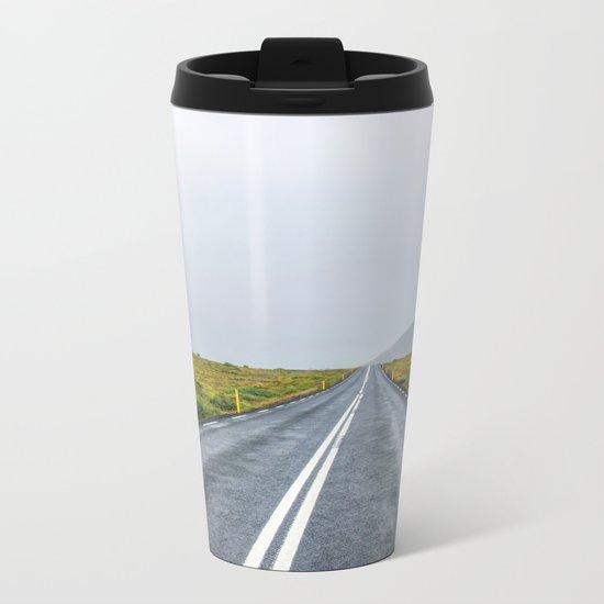 The Road Less Travelled Metal Travel Mug