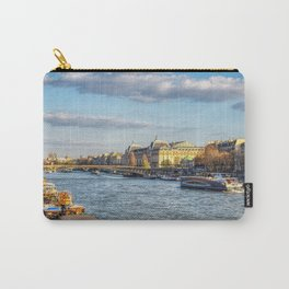 Seine river and Orsay Museum - Paris Carry-All Pouch
