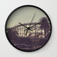 postcard Wall Clocks featuring postcard moments by Lewis Best