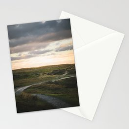 Late afternoon walks | North-Holland the Netherlands Travel Photography | Sunset Photo Print Stationery Cards