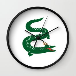 French Dragon Wall Clock
