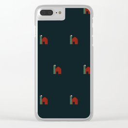 Wisconsin Barn Clear iPhone Case