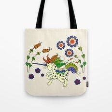 Swedish Unicorn Tote Bag