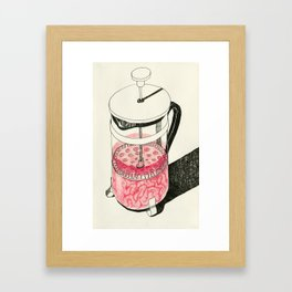 Push it Framed Art Print