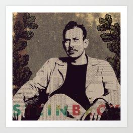 Steinbeck Art Print
