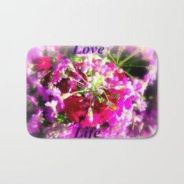 Love Life Bath Mat