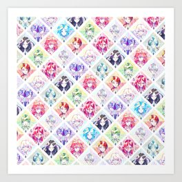 Houseki no kuni - Infinite gems Art Print