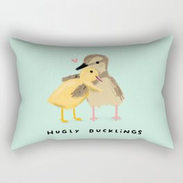 Hugly Ducklings Rectangular Pillow