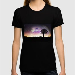 African galaxy skyline - Landscape Photography #Society6 T-shirt