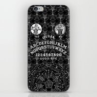 ouija iPhone & iPod Skins featuring OUIJA by DIVIDUS