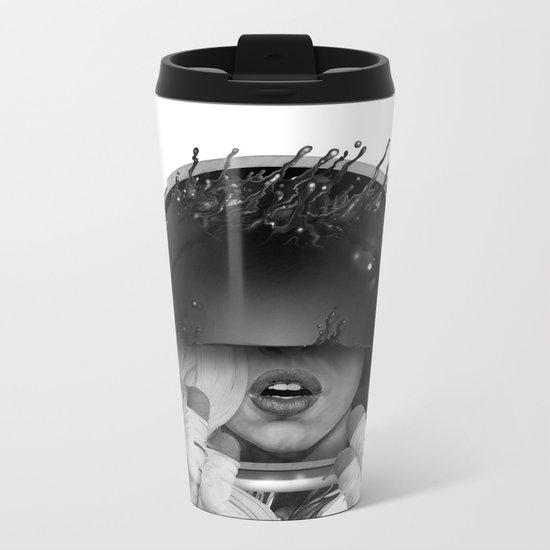 Space Noir Metal Travel Mug