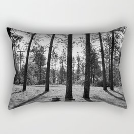The Space Between Spaces Rectangular Pillow