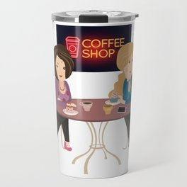 Friendship With A Cup Travel Mug