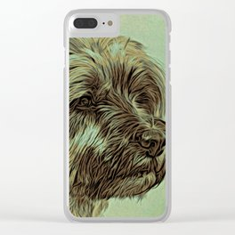 Sweet Face Clear iPhone Case