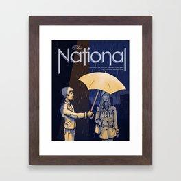 The National band poster (Sad) Framed Art Print