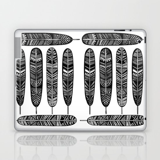 Six Feathers Laptop & iPad Skin