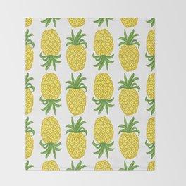 Pineapple Topsy Turvy Throw Blanket