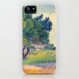 """Henri-Edmond Cross """"La petite maison à Saint-Clair"""" iPhone Case"""