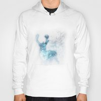 stag Hoodies featuring stag by Tati