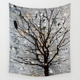Sparkling Nights Wall Tapestry