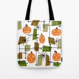 Halloween Mid Century Modern Tote Bag