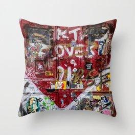Graffiti NYC Throw Pillow