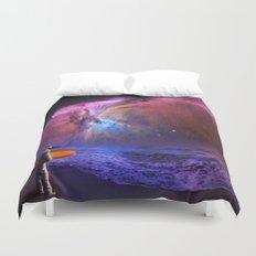 Space Surfer Duvet Cover