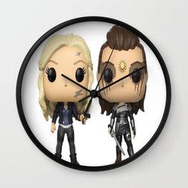 Clexa Toy Wall Clock