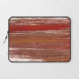 Chestnut abstract watercolor Laptop Sleeve