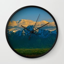 Pioneer Peak - Mat-Su Valley Wall Clock