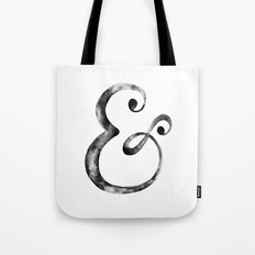 Ampersand Art Print Tote Bag