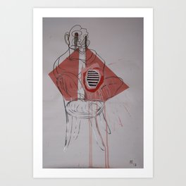 FRANCIS BACON 2 Art Print