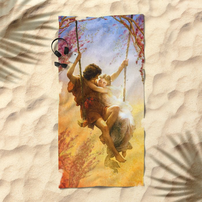 The Spring of Our Love Beach Towel