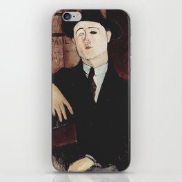 Paul Guillaume by Amedeo Modigliani iPhone Skin