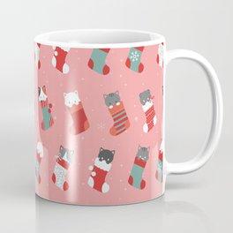 cat stockings Coffee Mug