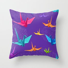 Tsurus 1 Throw Pillow