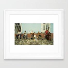 Los Pinos Framed Art Print